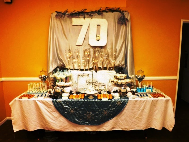 Party design ideas 70th birthday decoration ideas for 70th birthday decoration