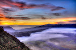 sunrise of Bromo