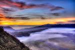 sunrise of Bromo