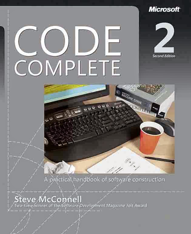 Best Books to Learn programming Languages - Code Complete