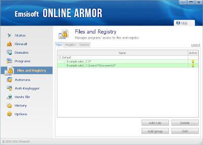 تحميل برنامج Emsisoft Online Armor 6 مجانا لحماية جهازك من التجسس