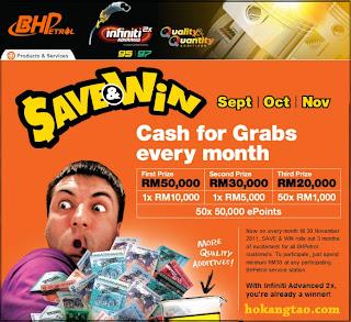 BHPetrol Save & Win