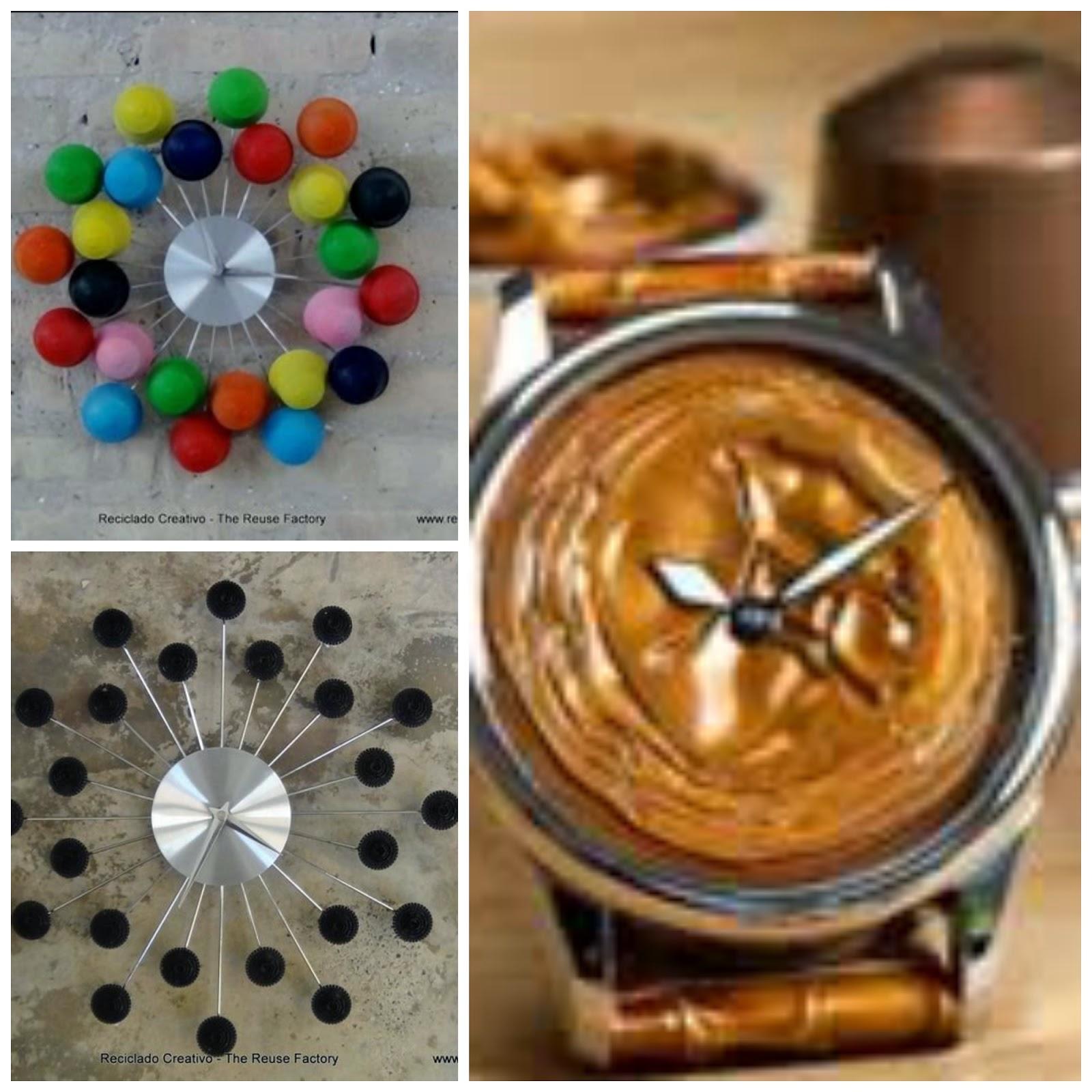 Artesanato com Cápsulas de café | Dá pra fazer relógios