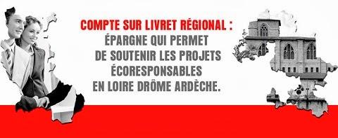 Compte sur Livret Régional Drôme-Ardèche