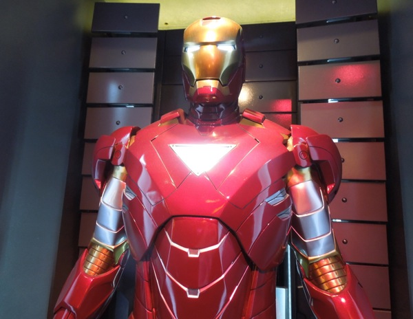 Iron Man Mark VI triangular chest plate