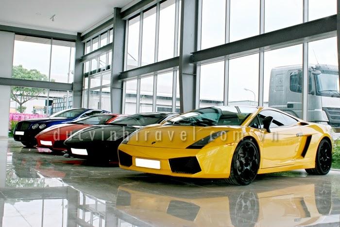 Cho thuê siêu xe Lamborghini trưng bày sự kiện, đám cưới