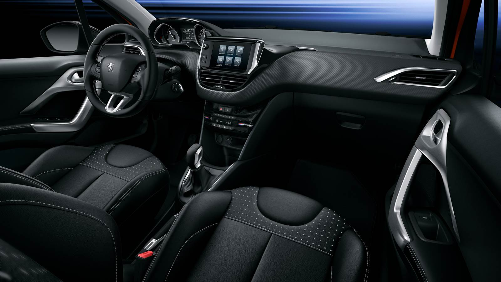 Novo Peugeot 208 2016 - interior