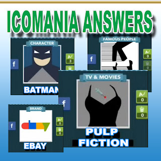 Icomania a.k.a Iconmania answers and cheats