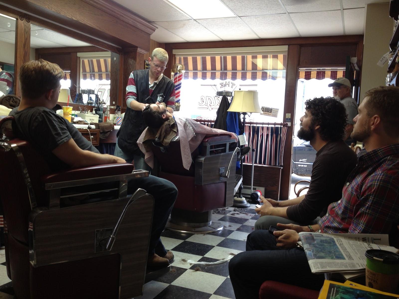 chanchanchepon: The Vintage Barber Shop