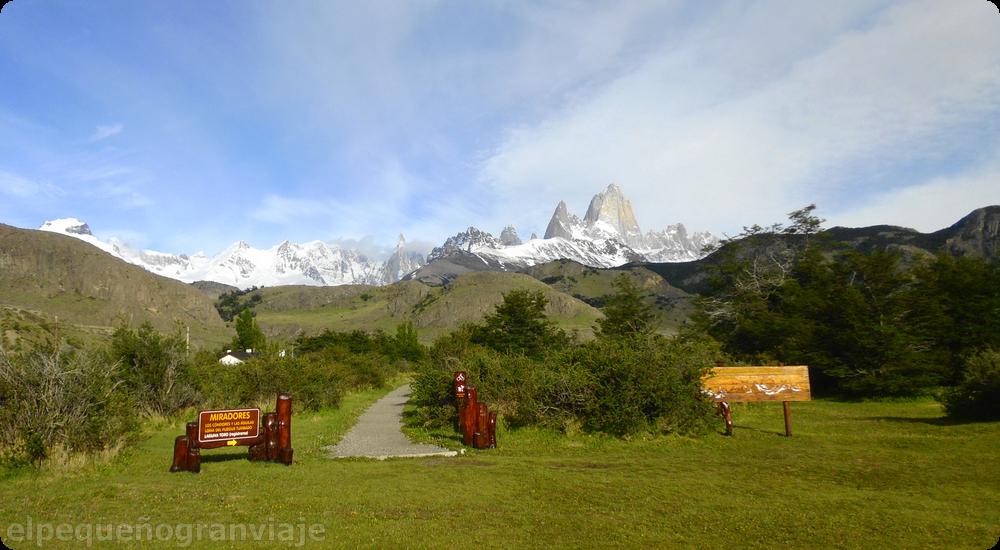Mirador oficina parque nacionales los glaciares, chaltén