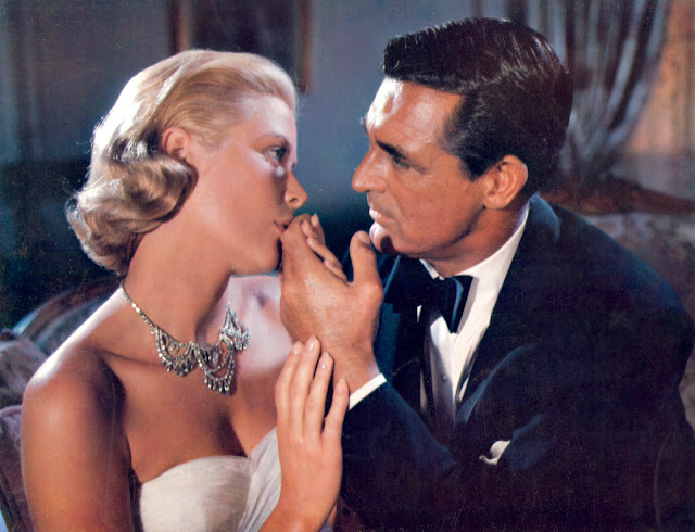 Grace Kelly and Cary Grant fireworks