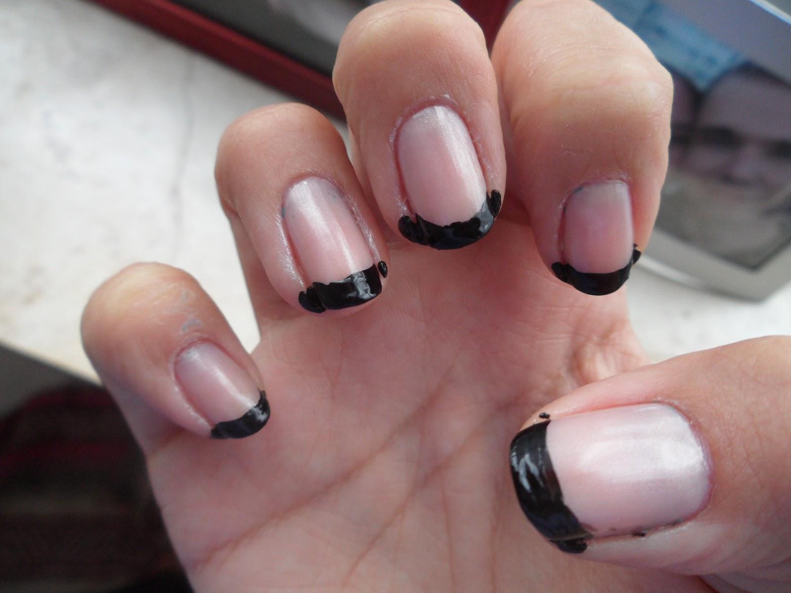 French tip manicure brush splendid wedding company french tip manicure brush solutioingenieria Images