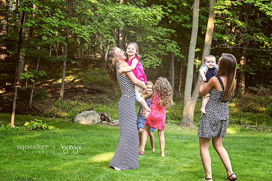 Multi-Generational Photo Shoot - Georgetown ON