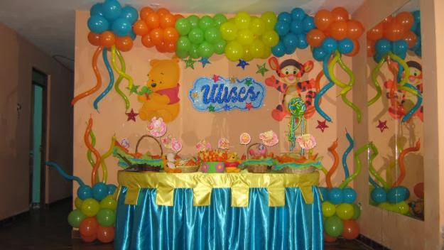 imagenes, fantasia y color: IDEAS DE DECORACION PARA FIESTA INFANTIL