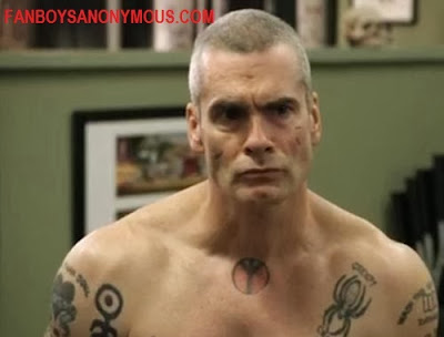 Sons of Anarchy Henry Rollins for Walking Dead Negan
