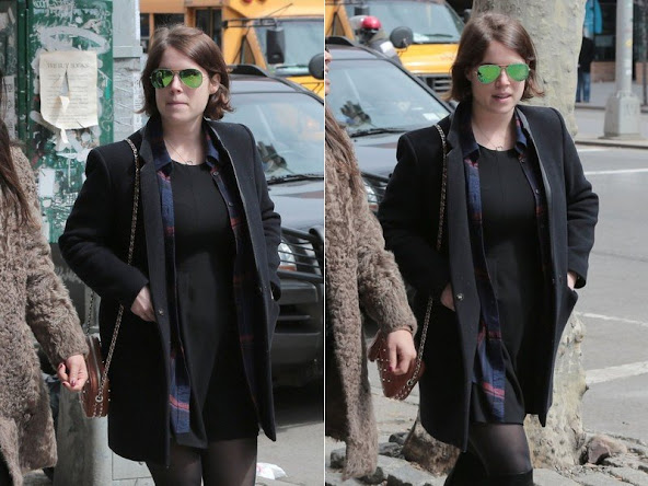 Princess Eugenie Style Dresses - Princess Eugenie of York was seen the with friends on April 1, 2015 in New York City, New York.