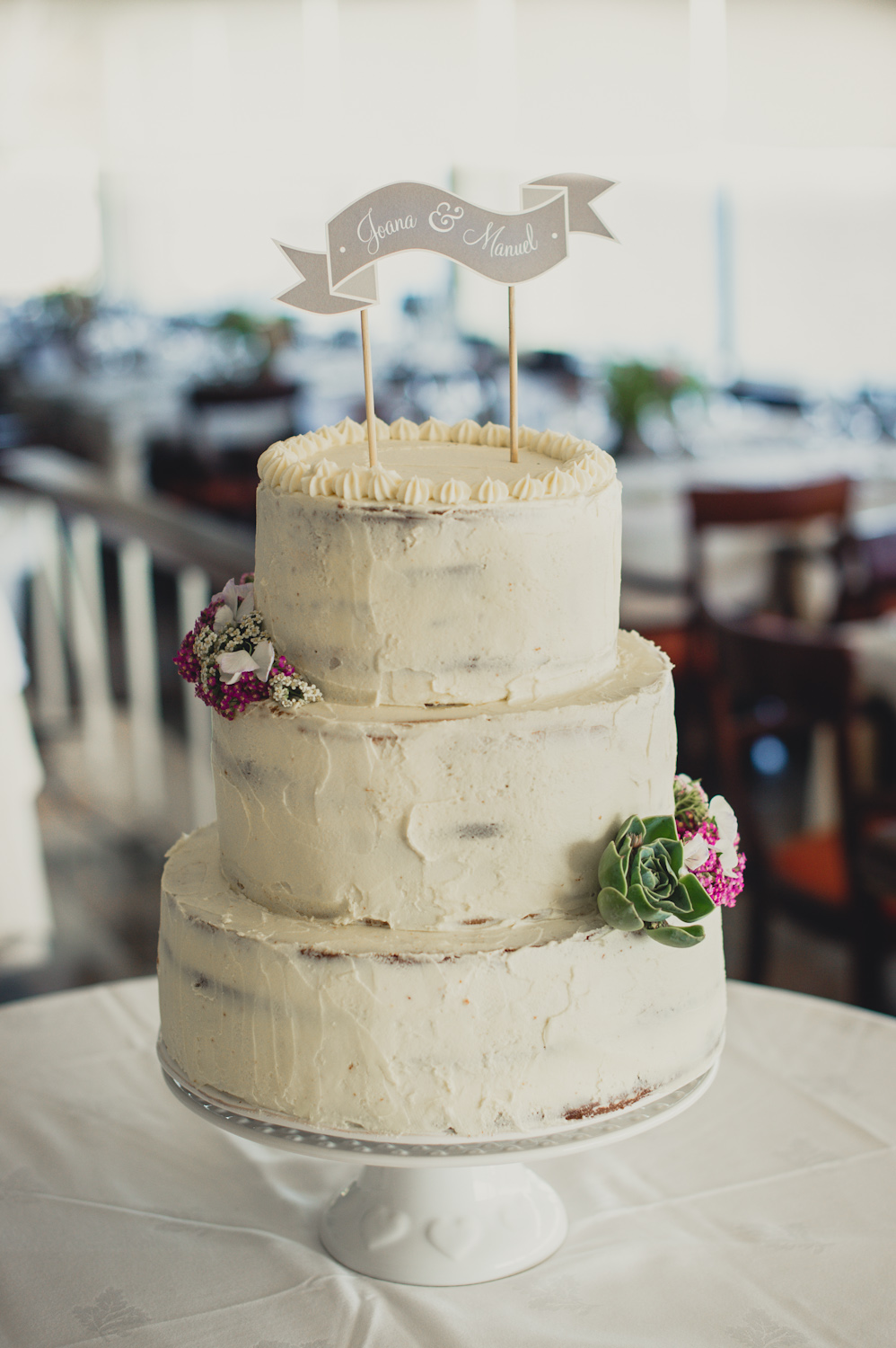 Organic Wedding Cake