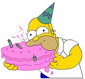 Vido joyeux anniversaire simpson joyeux anniversaire - Simpson anniversaire ...