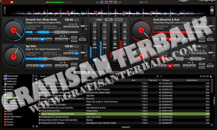 Virtual DJ Pro 7.4 Build 449 Final Password (if need) : www