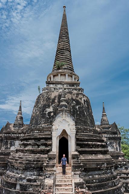 Kartki z Podróży - Świątynia w Ajutthaja