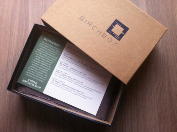 Birchbox Man - November 2012 Review - Monthly Grooming Subscription Boxes for Men