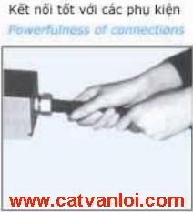 Ống ruột gà lõi thép mạ kẽm CVL dễ dàng kết nối với phụ kiện