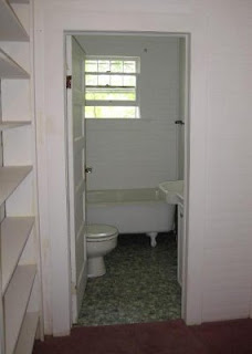 our hall bathroom as it was originally