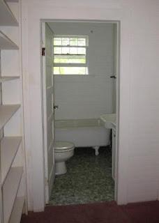 our hall bathroom as it was originally