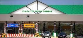 Plaza Tol Bukit Gambir Johor Dibuka