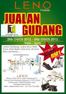 LENO Shoes Bags Warehouse Sale 2012