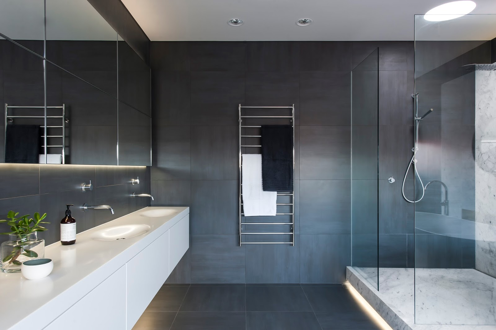 Minosa understated elegance creates a stunning bathroom for Modern ensuite ideas