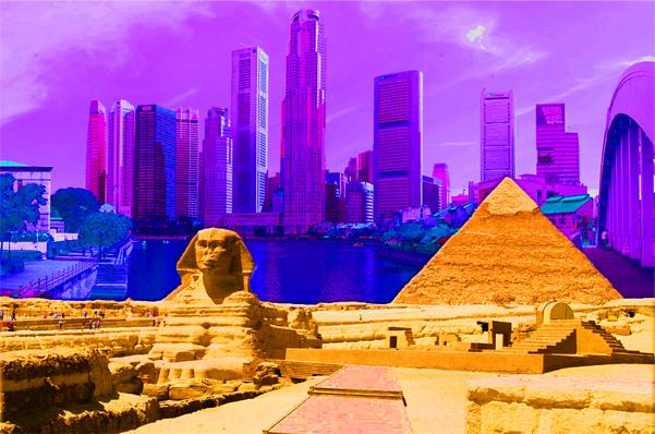Persekitaran hidup manusia tidak melambangkan sama ada mereka berfikiran maju atau mundur. Dalam setiap zaman, manusia hidup dalam keadaan berbeza dan mewujudkan keperluan berlainan. Misalannya, pemahaman bangsa Mesir purba tentang senibina tidak sama dengan kita pada hari ini, tetapi itu tidak bermaksud bahawa tamadun kita lebih maju. Satu lambang ketamadunan abad ke-20 adalah bangunan pencakar langit, namun piramid dan sphinx merupakan lambang keunggulan mereka.