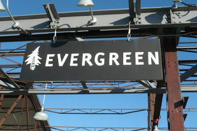 Evergreen Brick Works sign by garden muses: a Toronto gardening blog