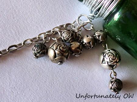gothic bottle necklace