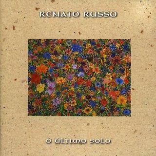 Renato Russo - O Ultimo Solo CD Capa