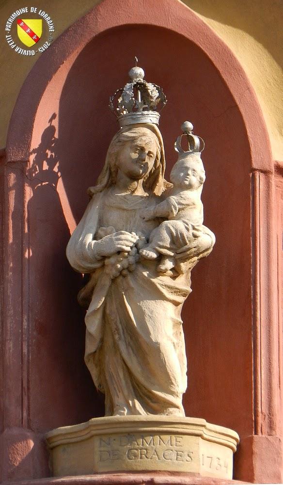 LUNEVILLE (54) - Vierge Notre-Dame de Grâces (1734)
