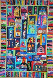 'Vrije huisjes quilt' actie voor straatkinderen Kathmandu