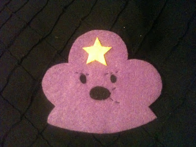 Lumpy Space Princess Hair Clip