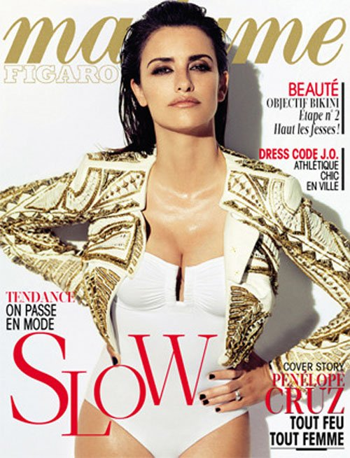 Penelope Cruz Covers Madame Figaro » Gossip/Penelope Cruz