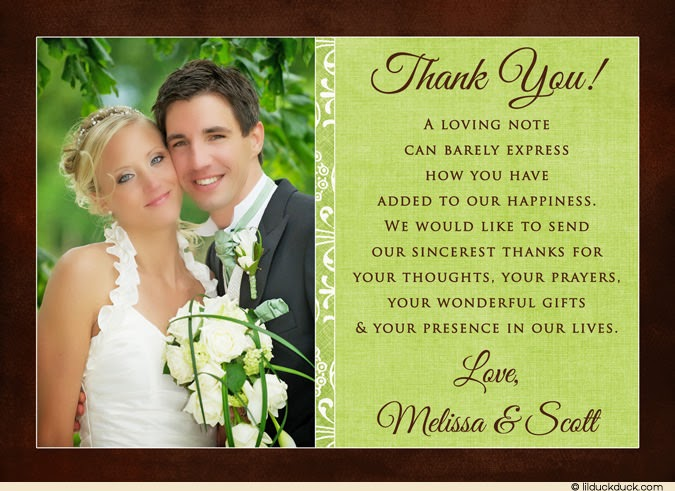 Custom Wedding Thank You Cards Photo Album Weddings Pro – Order Wedding Thank You Cards