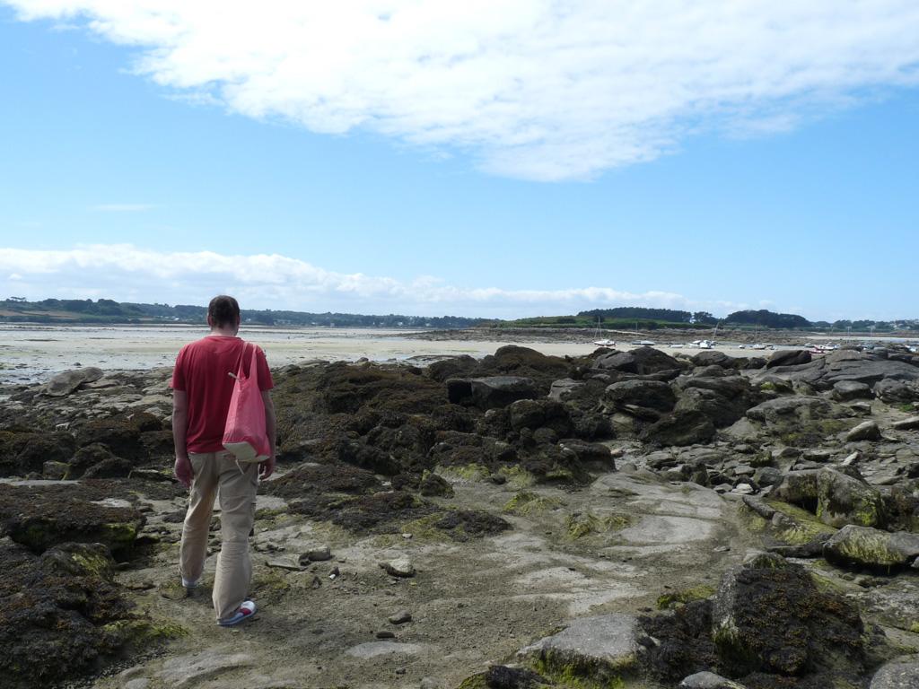ランドルレック・海を歩く Landrellec - Île-Grande