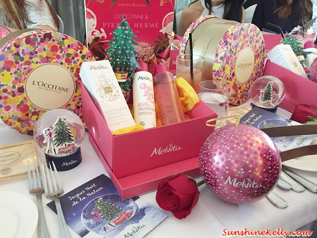 Christmas Date, L'OCCITANE Malaysia, MELVITA Malaysia, L'occitane Christmas Gift Set, Melvita Christmas Gift Set, holiday collection, L'OCCITANE, Jasmin mmortelle Neroli, Pamplemousse Rhubarbe, Miel Mandarine, 3 organic wild roses, Rosa Mosqueta, South of Chile, Rosa Canina, Vercors, Rosa Gallica, Regions of Drome