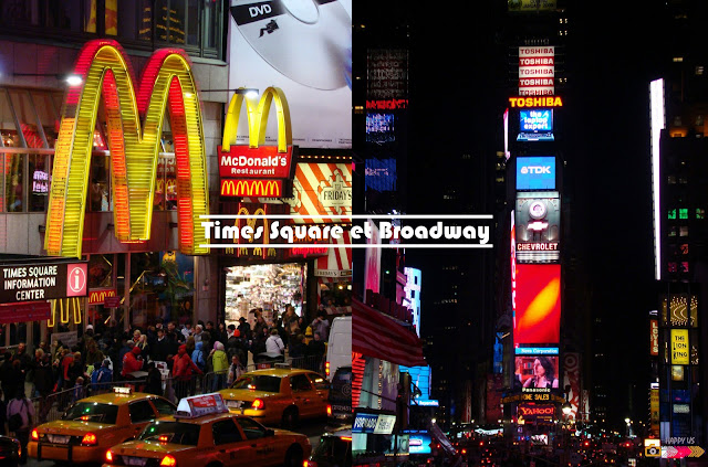 Times Square et Broadway