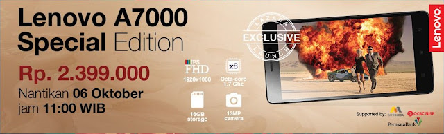 Beli Lenovo A7000 Special Edition Murah