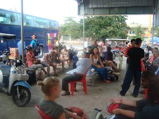 La gare routière de Phnom Penh - Cambodge
