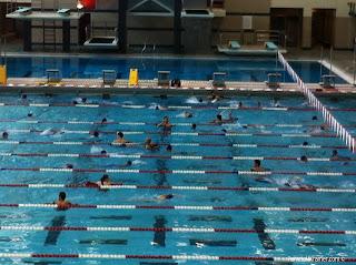Houston Kids Triathlon Senior Division swim