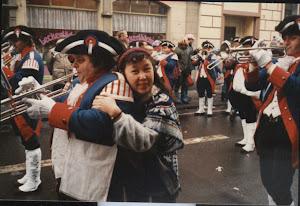 1986.2,狂欢节。让小松鼠赶紧照相。