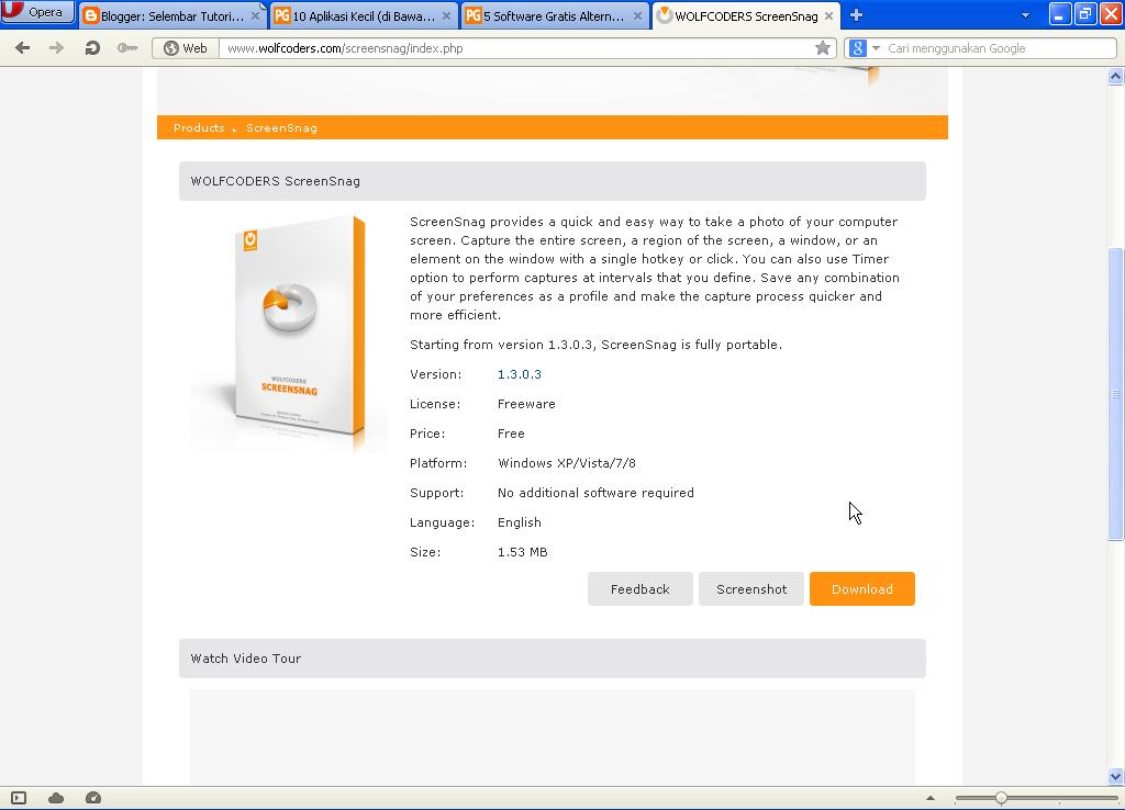 Download Aplikasi Screenshoot Untuk Windows Ringan