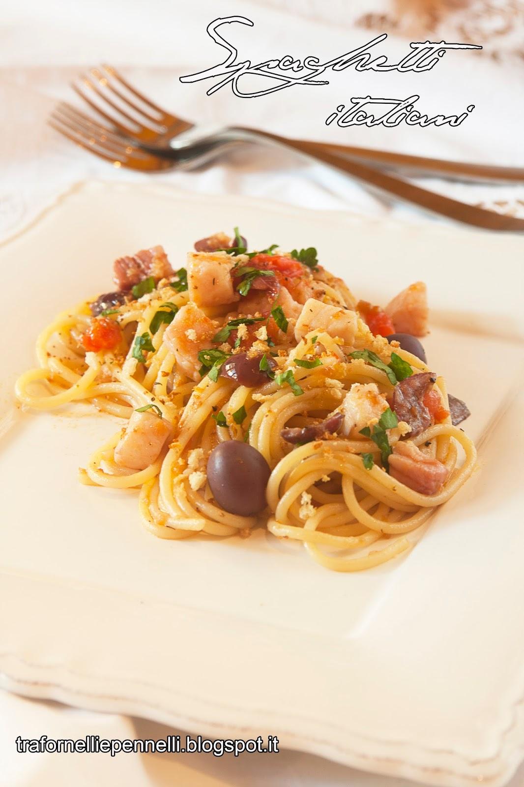spaghetti italiani e... paris food trip