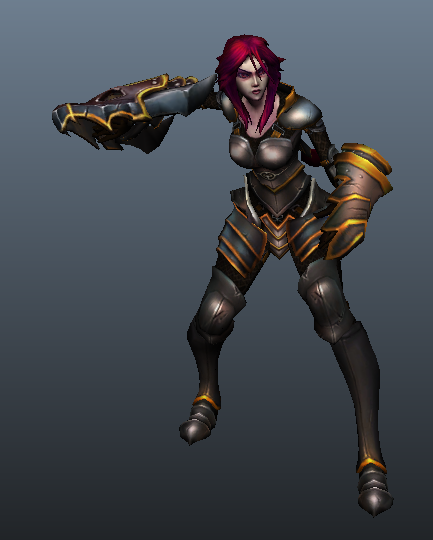 Surrender at 20: New Skins in Shyvana Patch Ironscale Shyvana Ingame